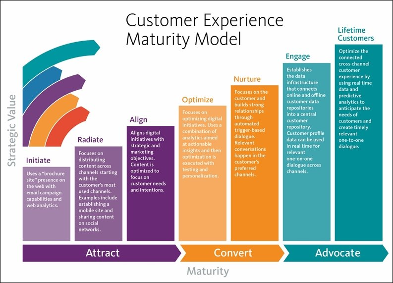 Customer experience maturity Model